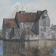 Old English Mill Print by Dan Bozich