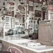 Old Fashioned Diner Art Print by Dave & Les Jacobs