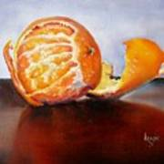 Old Fashioned Orange Art Print