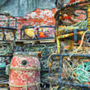 Old Fishing Gear Art Print