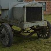Old Flat Bed Truck Art Print