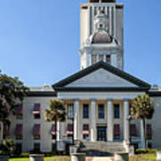 Old Florida Capitol Art Print by Frank Feliciano