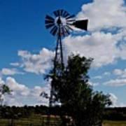 Windmill Color  Art Print