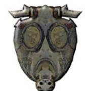 Old Gas Mask Art Print