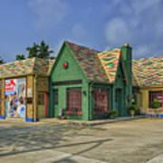 Old Gas Station Route 66 Cuba Mo Dsc05559 Art Print