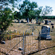 Old Grave Site 2 Art Print