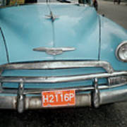 Old Havana Cab Art Print