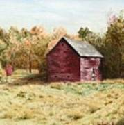 Old Homestead Barn Art Print