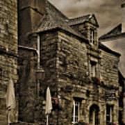 Old House - Rochefort-en-terre - La Bretagne Art Print