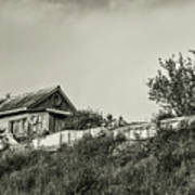 Old House On The Hill Art Print