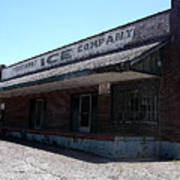 Old Ice House In Malvern Art Print