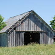 Old Iowa Barn Art Print