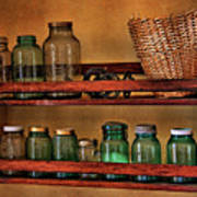 Old Jars Art Print by Lana Trussell