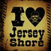 Old Jersey Shore Art Print