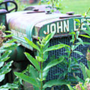 Old John Deere Art Print