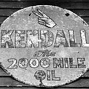 Old Kendal Sign Art Print