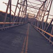 Old Knik Bridge 3 Art Print