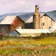 Old Koloa Sugar Mill Art Print