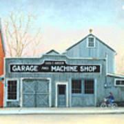 Old Machine Shop Art Print