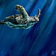 Old Man Of The Sea Art Print