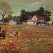 Old Mazoch Farm Art Print