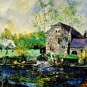 Old Mill In April Art Print