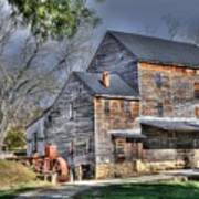Old Mill Nelson County Virginia Art Print
