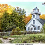 Old Mission Lighthouse Art Print