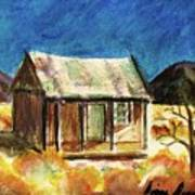 Old New Mexico Cabin Art Print