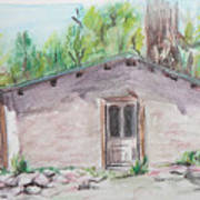 Old New Mexico House Art Print