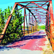 Old Ozark Trail Bridge Art Print