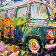 Old Paint Car Art Print