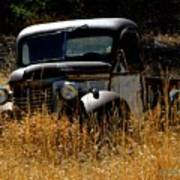 Old Pickup Truck Art Print