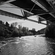 Old Rio Grande Bridge Art Print