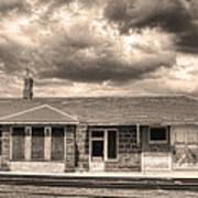 Old Rio Grande Train Stop Art Print