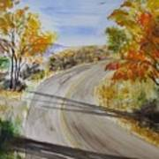 Old Road Art Print