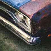 Old Rusty Car Art Print