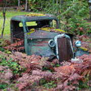 Old Rusty Truck I C1000 Art Print