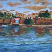 Old San Juan Gate, 4x6 In. Original Is Sold Art Print