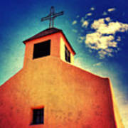Old Santa Fe Church Art Print