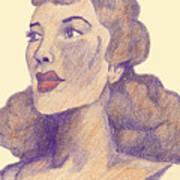 Old School Hollywood Art Print