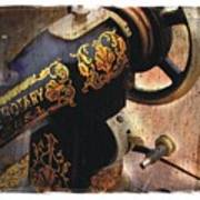 Old Sewing Machine Art Print