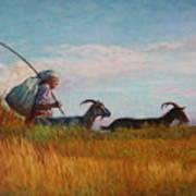 Old Shepherd Art Print