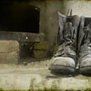 Old Shoes Art Print