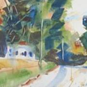 Old Slocum Road Art Print
