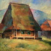 Old Small House Art Print