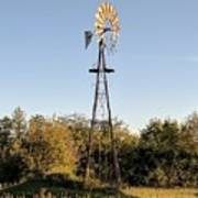 Old Southern Windmill Art Print