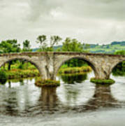 Old Stirling Bridge Art Print