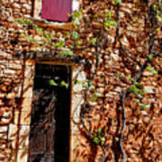 Old Stone House In Provence Art Print