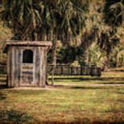 Old Storage Shed Art Print